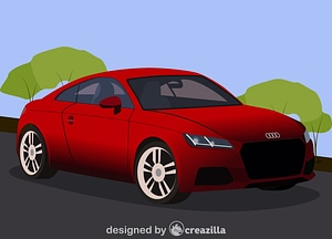 Audi tt vector