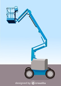 Cherry Picker vector