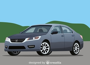 Honda Accord vector