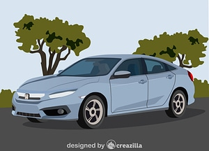 Honda Civic vector