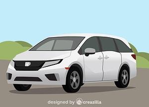 Honda Odyssey vector