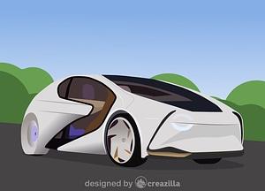 Toyota Concept-i vector