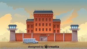 Векторное изображение: Prison