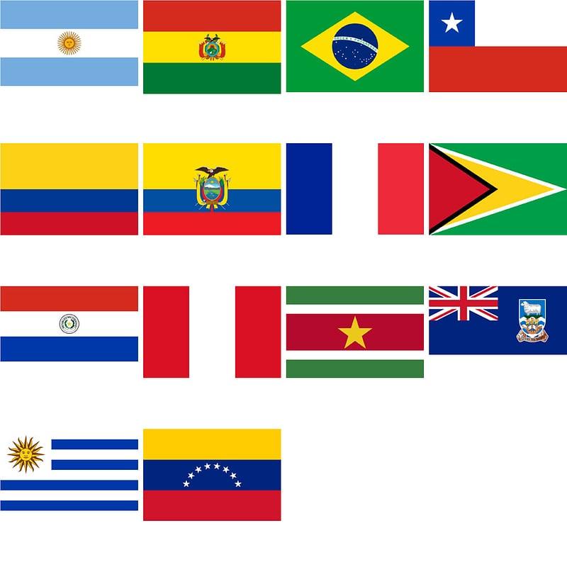 плиты флаг южной америки фото этот