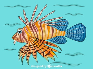 Lionfish vector