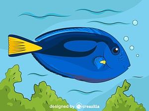 Vector de Navajón Azul