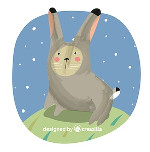 Bunny vector