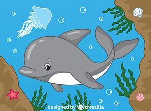 Dolphin ベクターイメージ狐