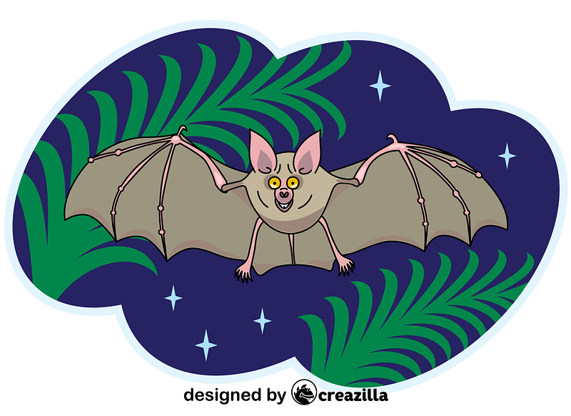 Vampire Bat vector