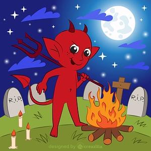 Little devil vector