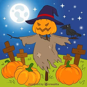 Immagine vettoriale di Scarecrow