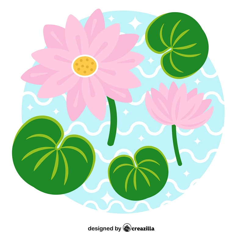 Lily pad vector