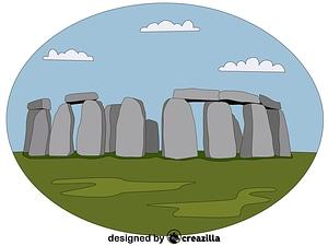 Векторное изображение: Stonehenge