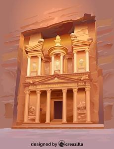 Векторное изображение: Petra
