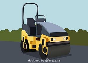 Compactor roller vector