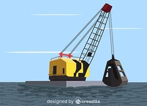Grab dredge vector