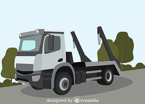 Skip loader vector