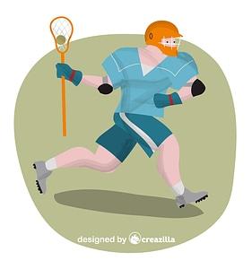 Lacrosse vector