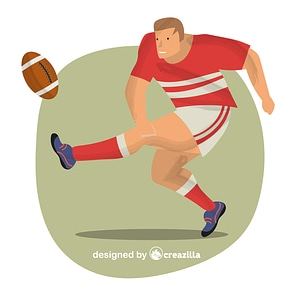 Rugby vector