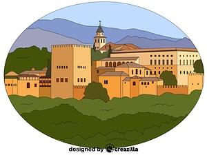 Векторное изображение: Alhambra