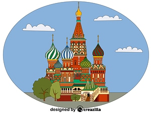 Saint Basil's Cathedral vector