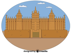 Векторное изображение: Timbuktu