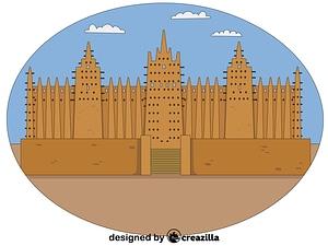 Timbuktu vector