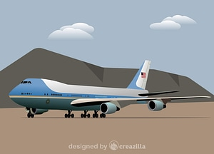 Vector de Air Force One