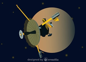 Vector de Galileo spacecraft