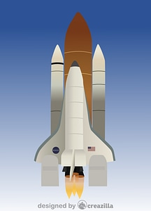 Vector de Space Shuttle Columbia