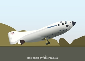 Vector de SpaceShipOne