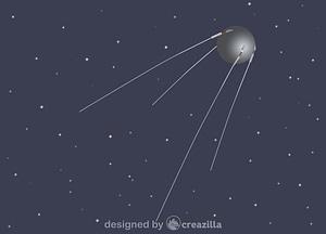 Sputnik vector