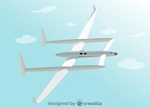 Voyager Burt Rutan vector