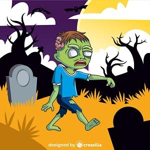 Immagine vettoriale di Zombie