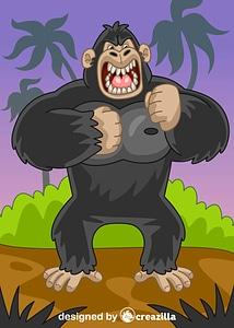 King Kong vector