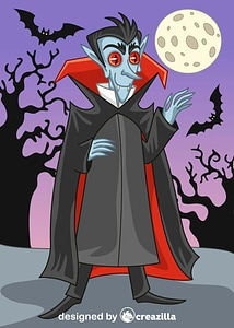 Immagine vettoriale di Vampire