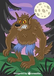 Immagine vettoriale di Werewolf