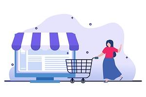 Shopping vektori