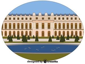 Chateau de Versailles vector