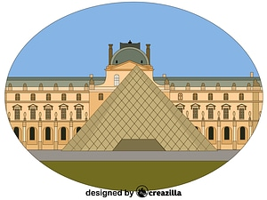 The Louvre vector