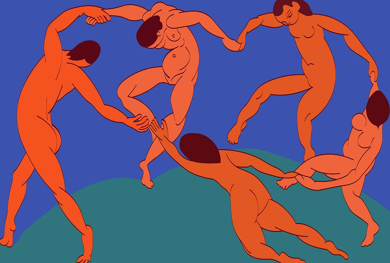 Dance by Henri Matisse vector