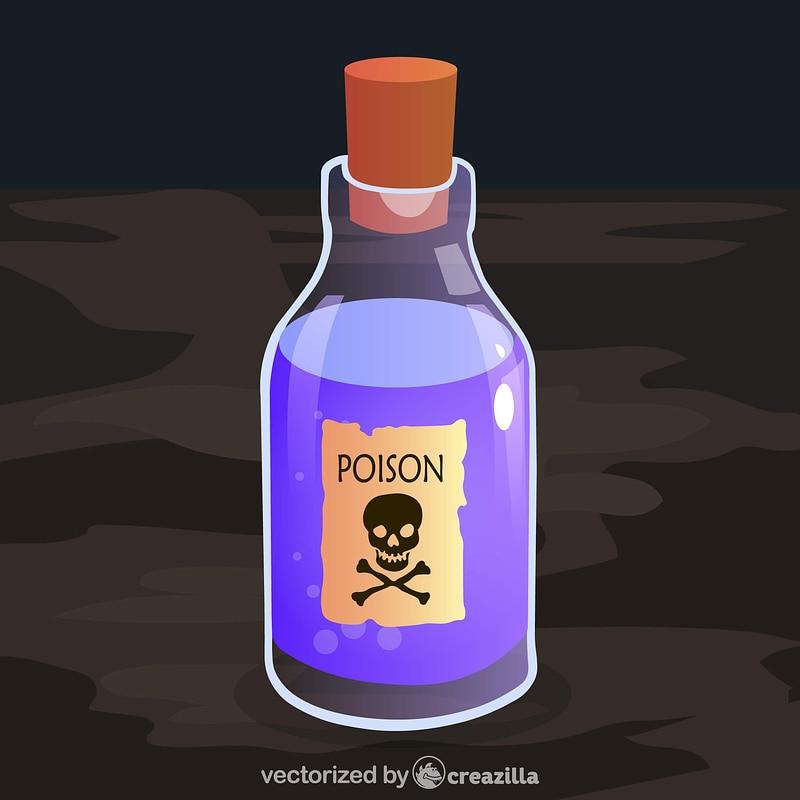 Poison Bottle vector