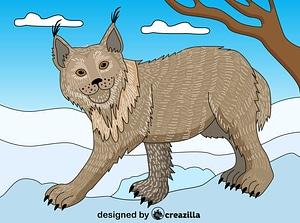 Lynx vektor