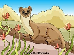 Weasel ベクターイメージ狐