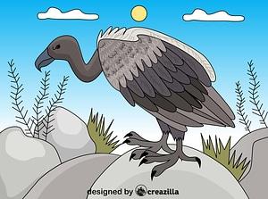 Vulture ベクターイメージ狐