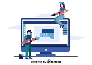 Graphic designers vector