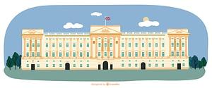 Buckingham palace vector