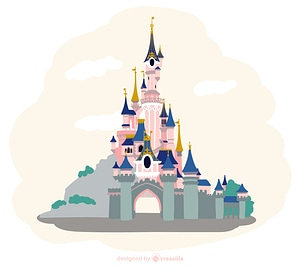 Disneyland vektori