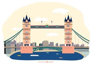 Tower Bridge vector