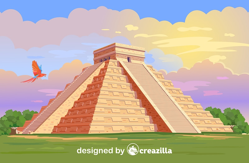 Chichen Itza vector